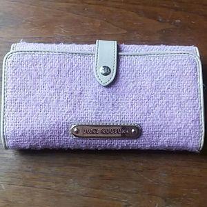 Juice Couture tweed wallet